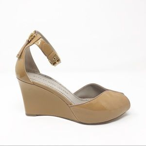 Marc By Marc Jacobs 1940's style Peep Toe Wedges